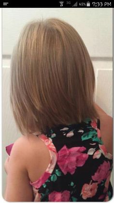 Little girls haircut