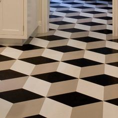 Hekto Grey Amp Black Vinyl Flooring That Reminds Us Of The