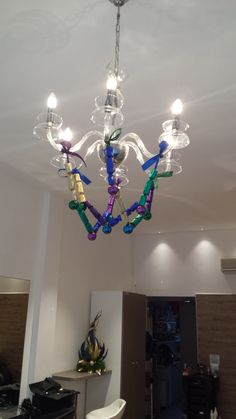 Christmas decoration in four colours