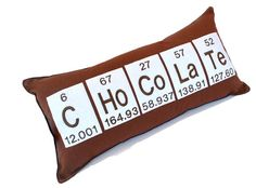 Periodic Table Chemical Element Chocolate by YellowBugBoutique, $38.00