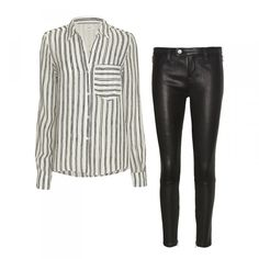 How To Dress Like A Swedish Fashion Girl | The Zoe Report Minimalist Edge Swedish street style stars like to soften the vibe of leather pants with a flowing silk blouse. Add a dash of androgyny with a pair of loafers.