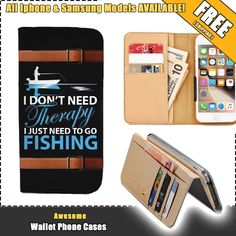 Awesome Fishing Lovers Wallet Case (Apply Code at Checkout: BUY1GET2)