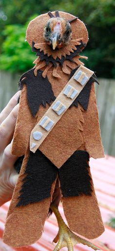 ChewBAWKa Chicken Costume on Etsy, $10.00  I am pinning this because it is the most random awesome thing I've seen in a long time. Laugh it up cluck-ball!