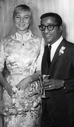 Sammy Davis Jr. and May Britt. At the time semi- scandalous.