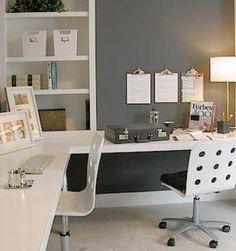 corner double desk
