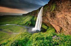 Seljalandfoss+Waterfall+Striking+Place+In+Iceland