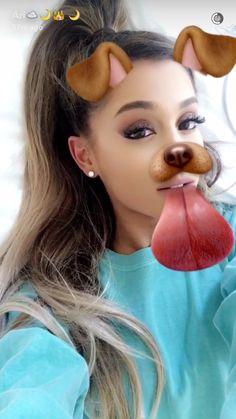 ♡ @αgmymoonlight ♡ #ArianaGrandeSnapchat my lil cutie pie