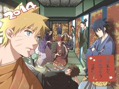 Pixiv Id 945241, NARUTO, Uzumaki Naruto, Akimichi Chouji, Gaara, Aburame Shino