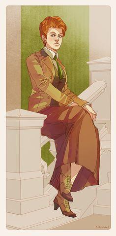 Rosalind Lutece, by Riense Bioshock Infinite Lutece Twins