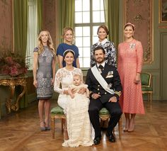 Royals & Fashion: Official photos of the baptism of Prince Alexander