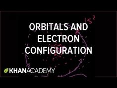 (1) More on orbitals and electron configuration (video) | Khan Academy