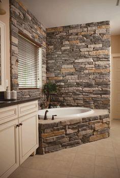Gallery Website bai decorate cu piatra stone bathroom ideas