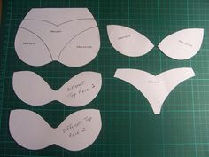 cut out cards template - Google Search