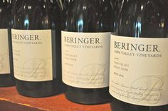 One of the oldest wineries in the region, a visit to Beringer Winery means a visit to the history of the region and the history of California.  We never tasted a bad wine here!