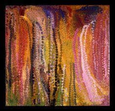 Emily Kame Kngwarreye, Alatyite, Acrylic on canvas, 1994