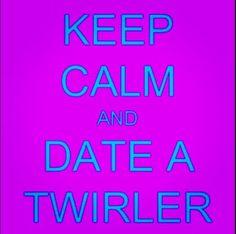 Heheee.. I'm a twirler;)