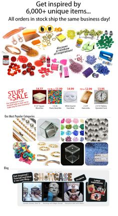 Kit Kraft - love this little shop for craft supplies! Great selection of glitter :) Oh, and they take PayPal too! <3