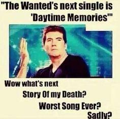 Lol story of my death, worst song ever , sadly hahahahahahah