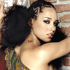 My Kink and Curls: Hair Inspiration: Alicia Keys