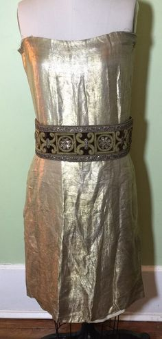 Vintage Original 1920S Rare Flapper Dress. Period Piece From The Era. Handmade. #Handmade