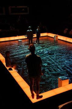Curious Incident of the Dog in the Night Time at the Apollo Theatre  Incredible set design and I love the score.