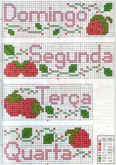 Seguemdois conjuntos de gráficos para semaninha com frutinhas.   Um com diversos tipos de frutas:     E este com moranguinhos (os dois são ...