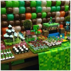 dagio felipe: Festa Minecraft do Thiago