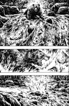 The Bristol Board: drawblr: Beautiful pages from the first issue of...