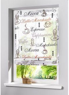 "Raffrollo ""Coffee"", bpc living, creme"