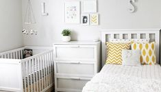 Shared girls closet / toddler and baby. Shared girls closet / toddler and baby - Kids Room Ideas. Shared girls closet / toddler and baby Boy And Girl Shared Bedroom, Shared Bedrooms, Baby Bedroom, Girls Bedroom, Master Bedrooms, Shared Kids Rooms, Boy Girl Room, Toddler And Baby Room, Toddler Bunk Beds