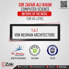 Topic of the week for As-Level Computer Science by ZAK #Olevel #Alevel #CIE #ComputerScience #ZAK