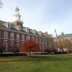 Johns Hopkins University main campus, where Melanie went to undergrad.  Baltimore, MD.