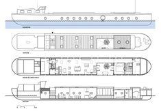 BBVH architecten BV (Project) - Transformatie van Belgisch vrachtschip tot Amsterdamse woonb - architectenweb.nl
