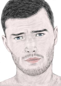 Drawing portrait Jamie Dornan by carlosirigoyen.deviantart.com on @deviantART