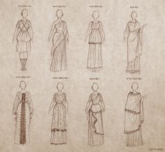 Ancient Greek Dresses by Ninidu.deviantart.com on @deviantART