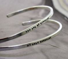 You Are My Sunshine My Only Sunshine  sterling by KathrynRiechert, $90.00