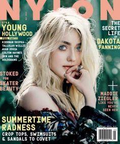 NYLON May 2015  Dakota Fanning