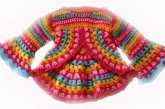 crochet, children, jacket, design ideas