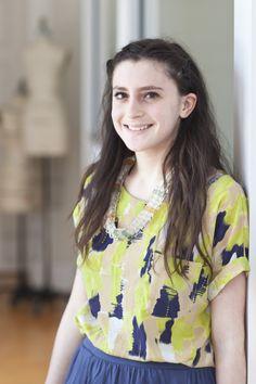 Alysha Caine, B.F.A. fashion student, Tucson, Arizona  http://www.scad.edu/fashionshow/  #SCADFashion
