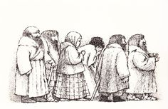 Nikolenka's Childhood by Leo Tolstoy, illustrated by Maurice Sendak. Harper and Row, (from Maurice Sendak Illustrates Tolstoy Maurice Sendak, Russian Literature, Children's Picture Books, Soft Sculpture, Land Art, Pictures To Draw, Colouring Pages, Book Illustration, Childrens Books