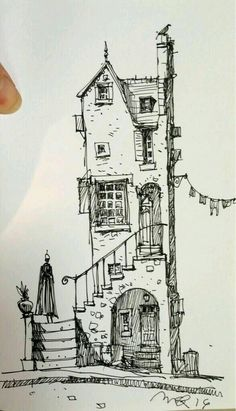 43 trendy house drawing simple building Drawing Ideas drawing ideas for kids Urban Sketching, Sketches, Pen Art, Art Sketchbook, Art Drawings, Drawings, Doodle Art, Drawing Sketches, Art