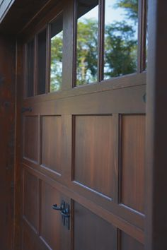Reserve Collection: Handcrafted Wood Carriage House Doors