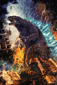 Godzilla by Daniel Scott Gabriel Murray
