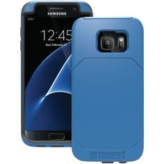 Trident Case Samsung Galaxy S 7 Edge Aegis Pro Case (blue) Samsung Galaxy S, Galaxy S7, Mobile Gadgets, S7 Edge, Samsung Cases, Phone, Leather, Blue, York