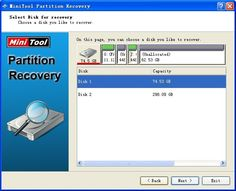 Recover NTFS Hard Drive With Minitool Partition Recovery  #partition #partitionrecovery  #datarecovery  #freeware  #software
