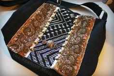 Assuit Messenger Bag Mixed Metal Assiut Antique by theverdantmuse
