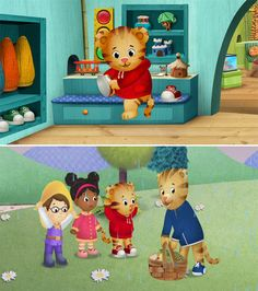 Daniel tiger's neighborhood...I absolutely love this show!