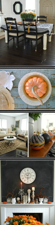 DIY Thrifted & Crafted Budget Friendly Home Decorating Ideas Diy Room Decor, Living Room Decor, Home Decor, Living Rooms, Wood Slice Coffee Table, Coffee Tables, Diy Wood Bench, Wood Slice Crafts, Autumn Coffee