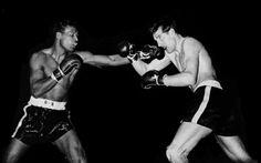 Ray Robinson  vs  Rocky The Rock Graziano