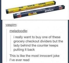 Grocery shopping: | 28 Of The Most Important Things That Ever Happened On Tumblr